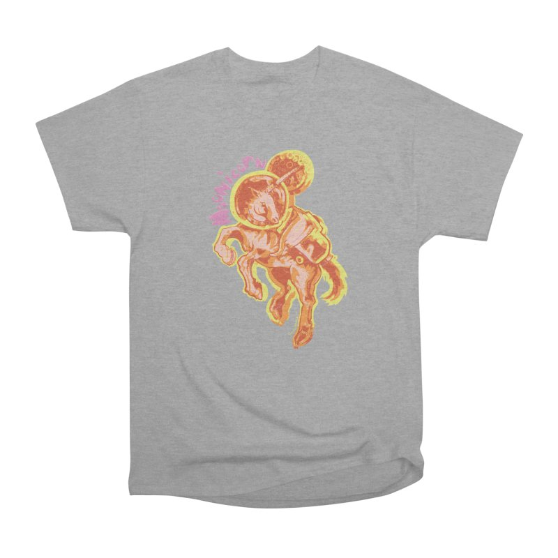 Moonicorn Men's Heavyweight T-Shirt by