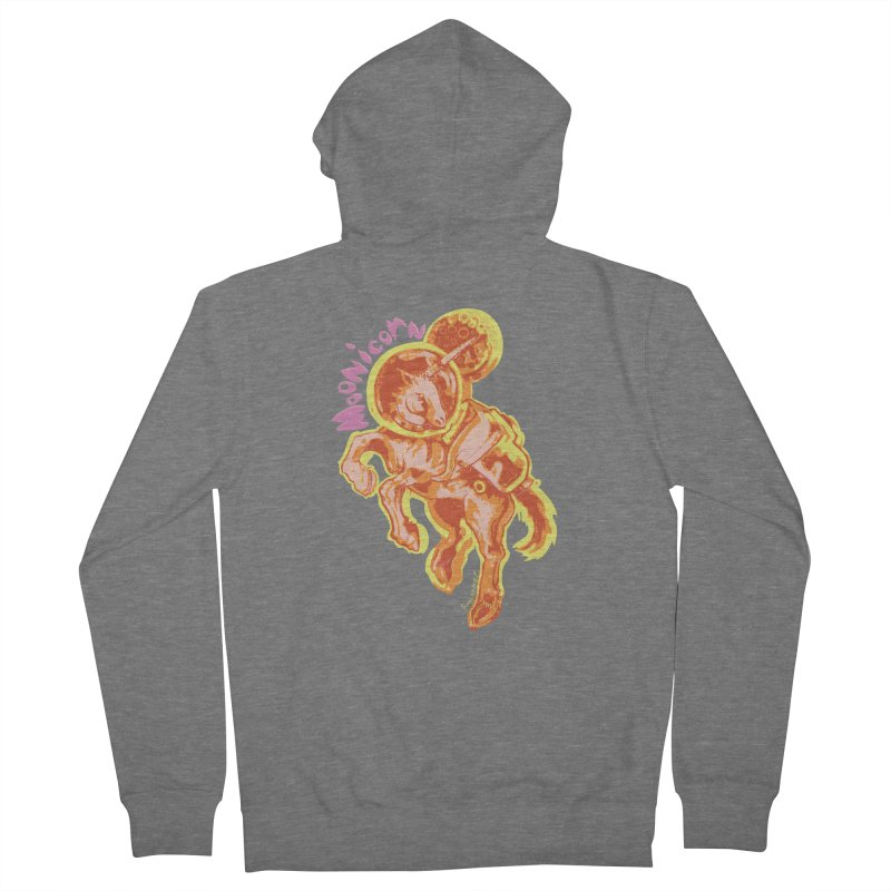 Moonicorn Men's Zip-Up Hoody by