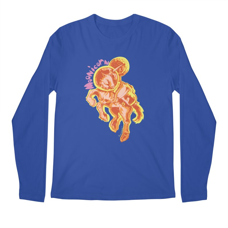 Moonicorn Men's Longsleeve T-Shirt by