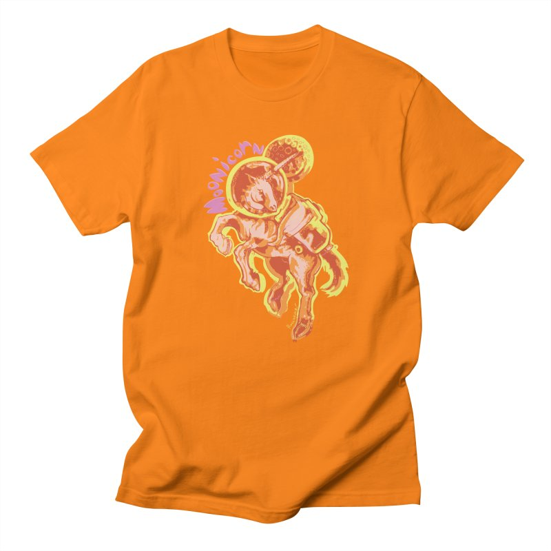 Moonicorn Men's Regular T-Shirt by
