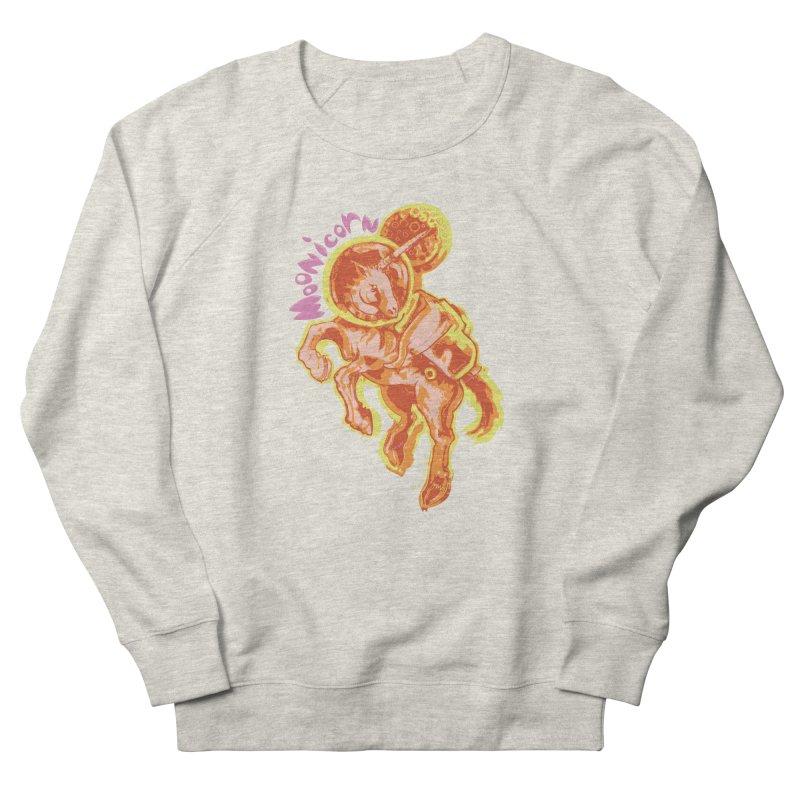 Moonicorn Women's French Terry Sweatshirt by
