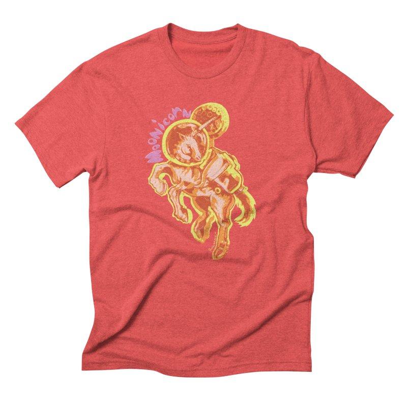 Moonicorn Men's Triblend T-Shirt by