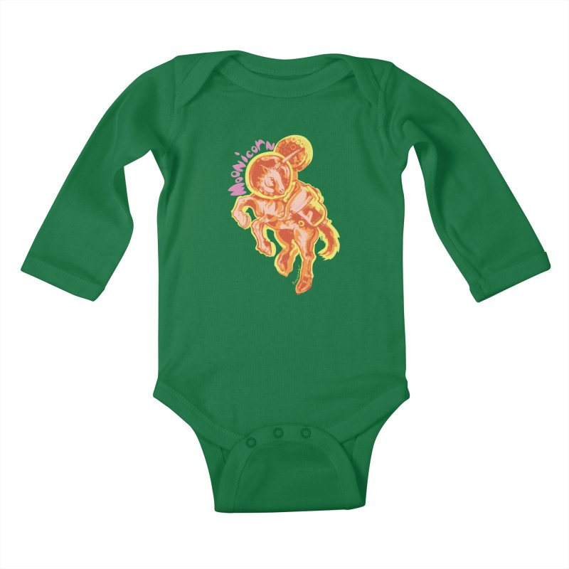 Moonicorn Kids Baby Longsleeve Bodysuit by