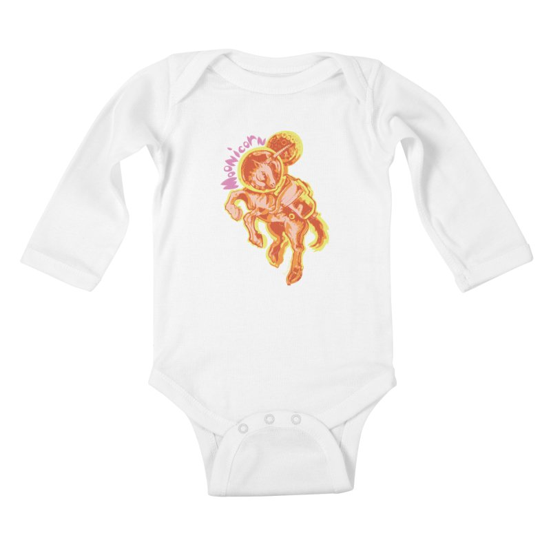 Moonicorn Kids Baby Longsleeve Bodysuit by