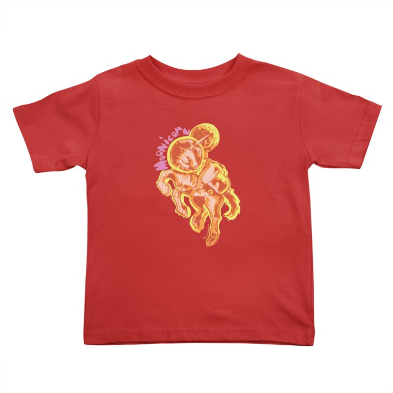 Moonicorn Kids Toddler T-Shirt by