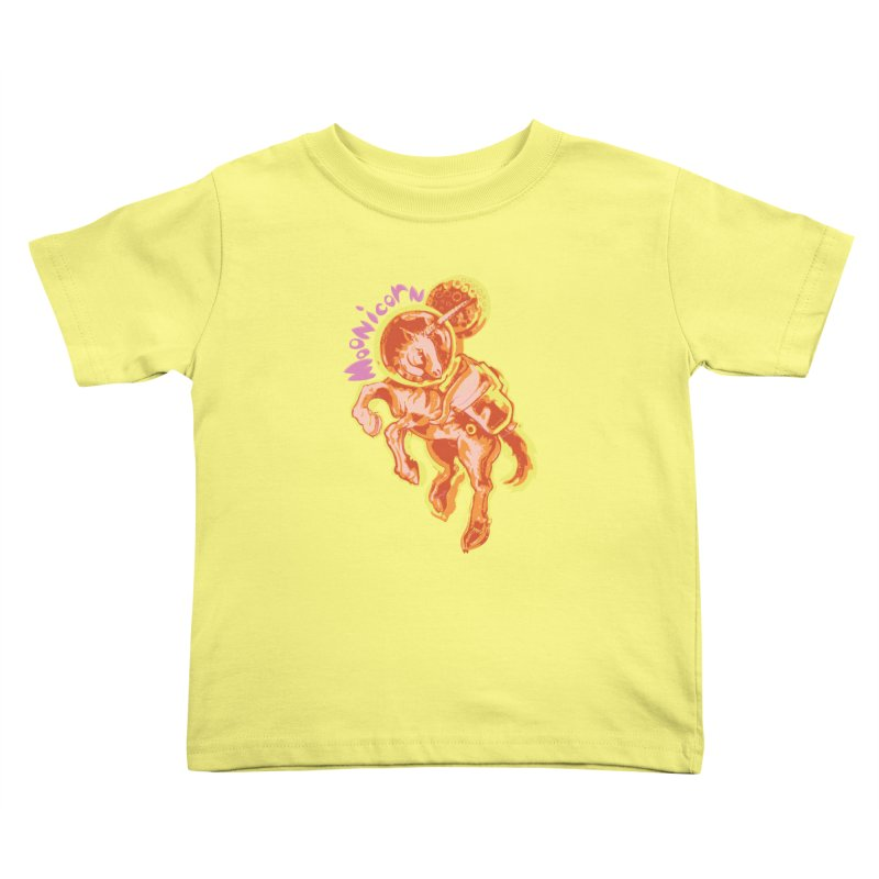 Moonicorn Kids Toddler T-Shirt by