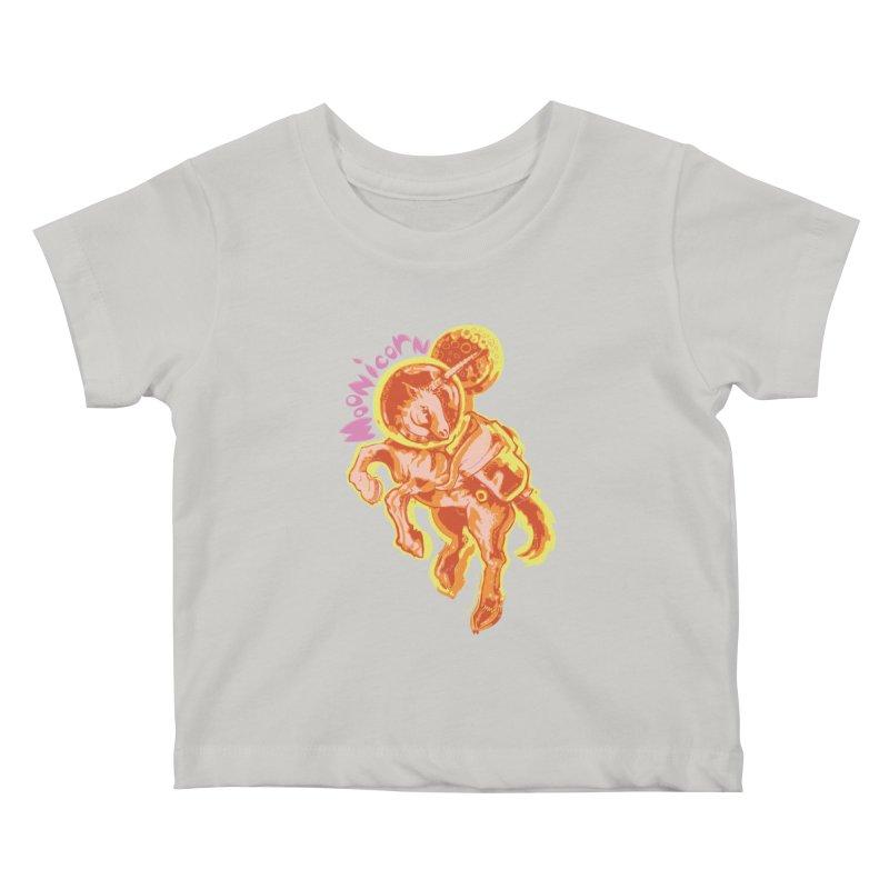 Moonicorn Kids Baby T-Shirt by