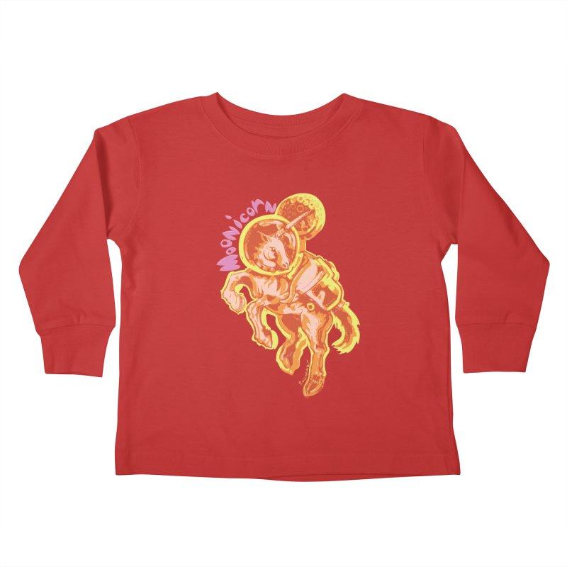 Moonicorn Kids Toddler Longsleeve T-Shirt by