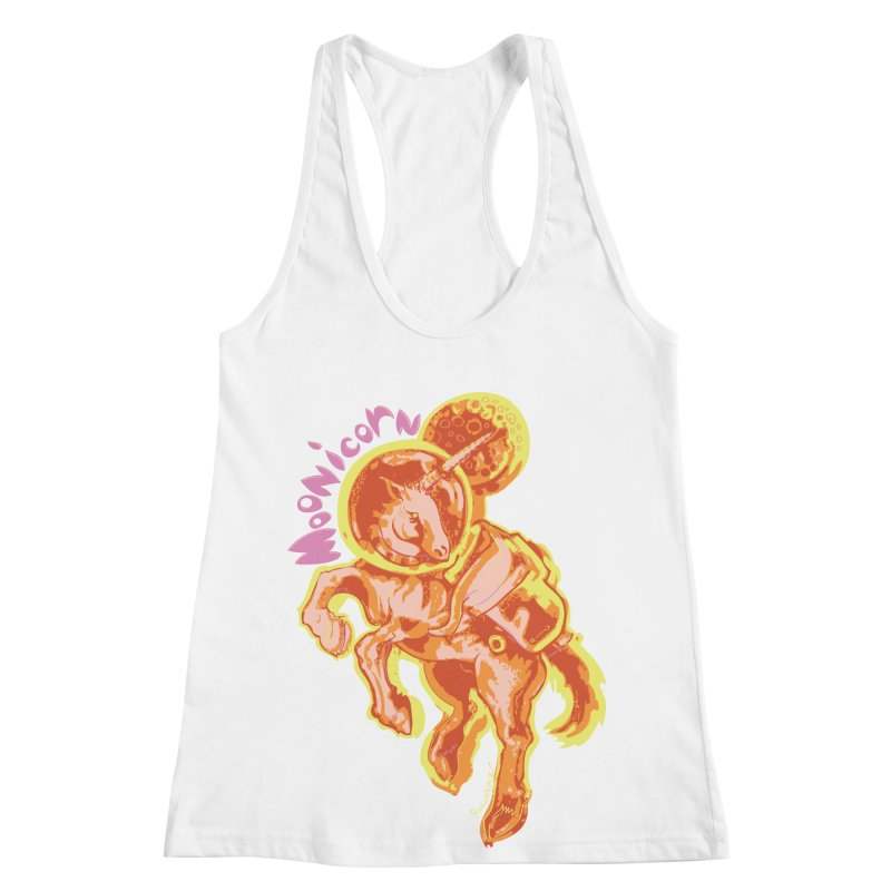 Moonicorn Women's Racerback Tank by