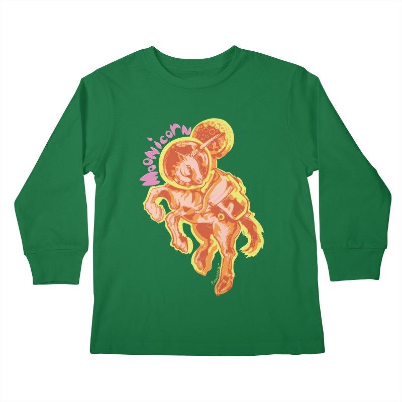 Moonicorn Kids Longsleeve T-Shirt by