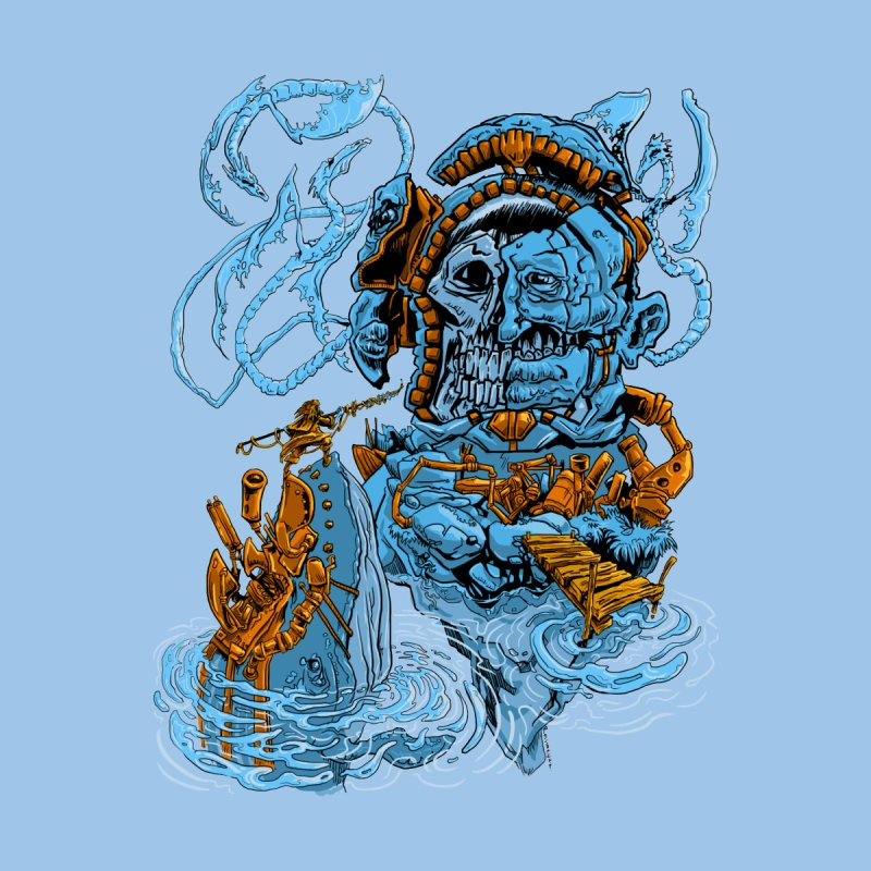 Steamborg Island Kids T-Shirt by