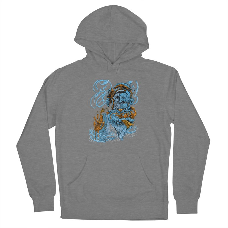 Steamborg Island Men's French Terry Pullover Hoody by