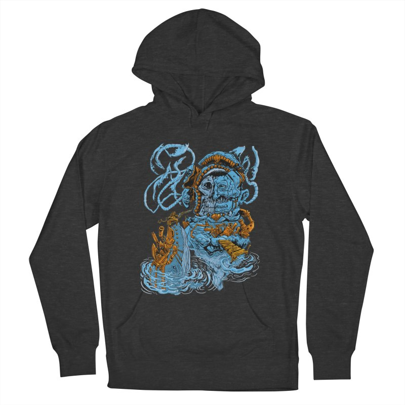 Steamborg Island Women's French Terry Pullover Hoody by