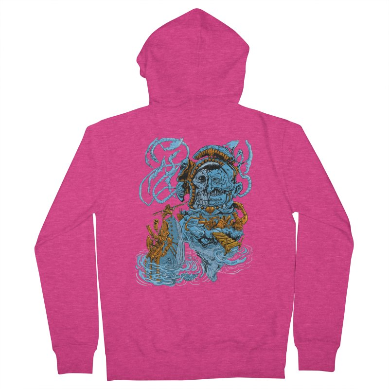Steamborg Island Women's Zip-Up Hoody by