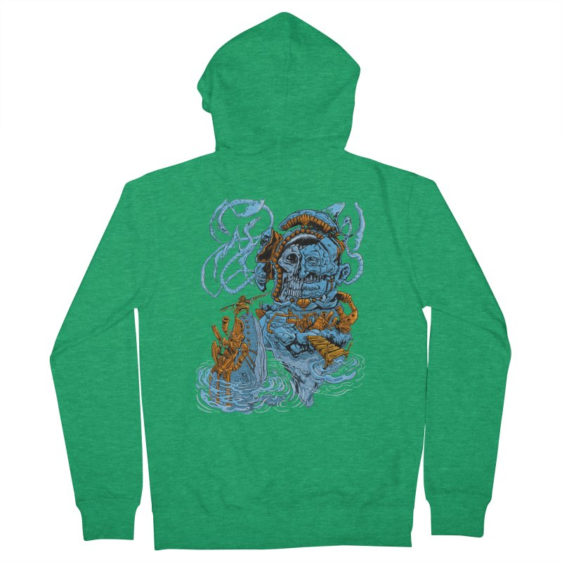 Steamborg Island Men's Zip-Up Hoody by