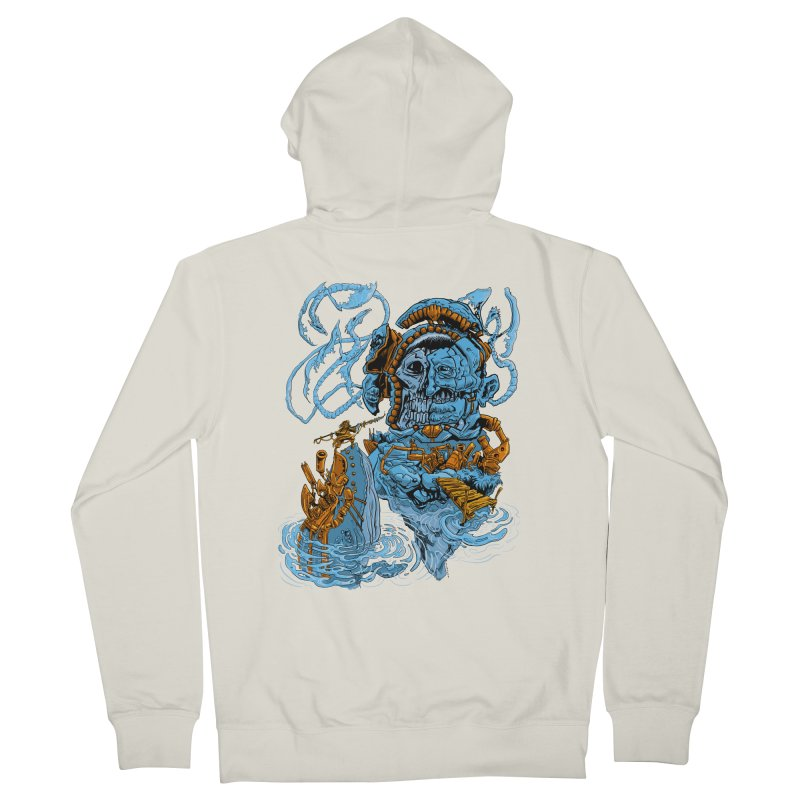 Steamborg Island Men's French Terry Zip-Up Hoody by