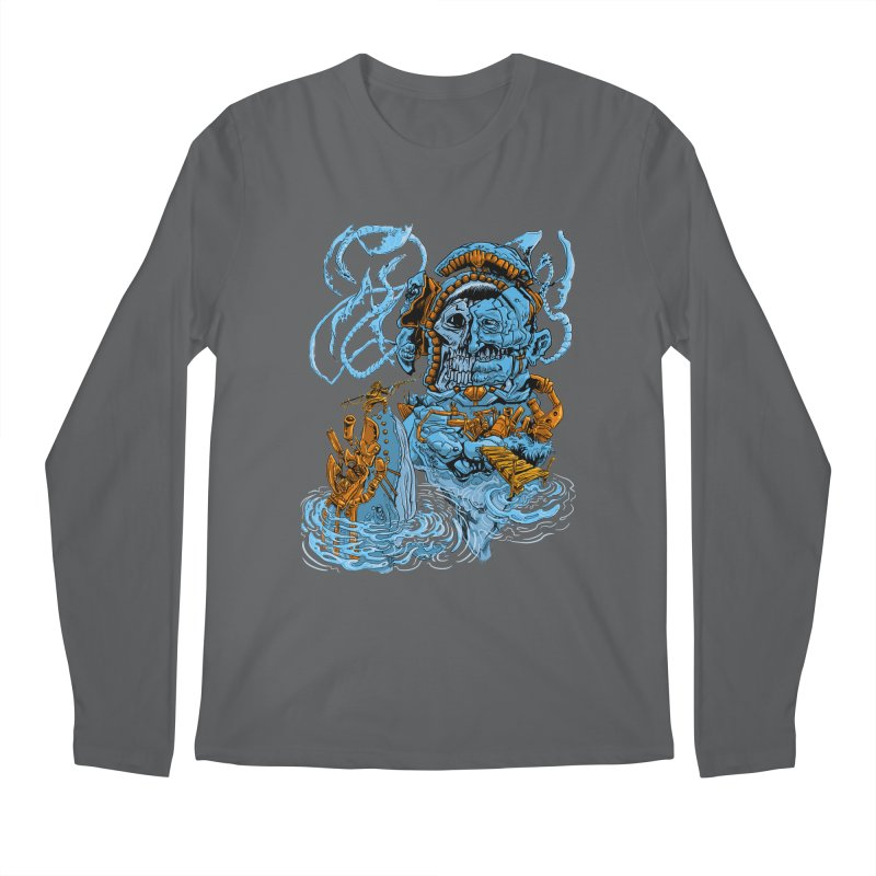 Steamborg Island Men's Longsleeve T-Shirt by