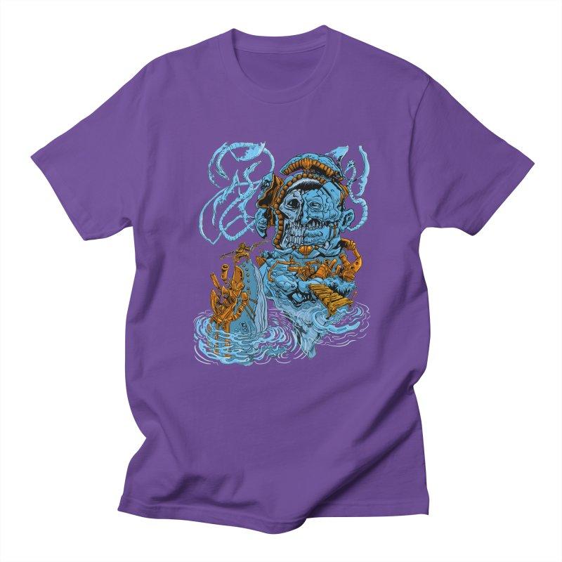 Steamborg Island Men's Regular T-Shirt by