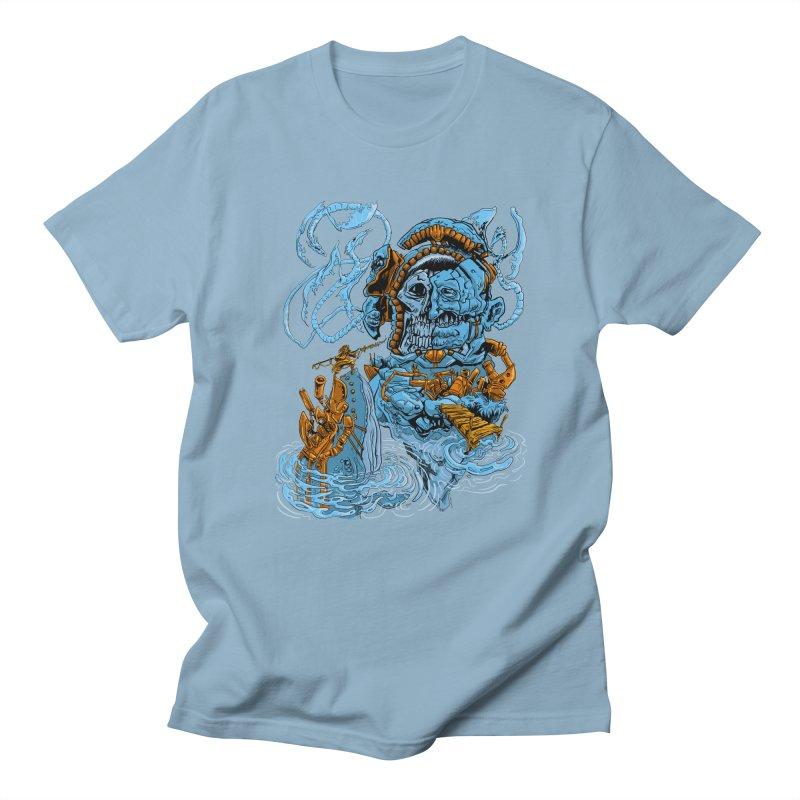 Steamborg Island Men's T-Shirt by