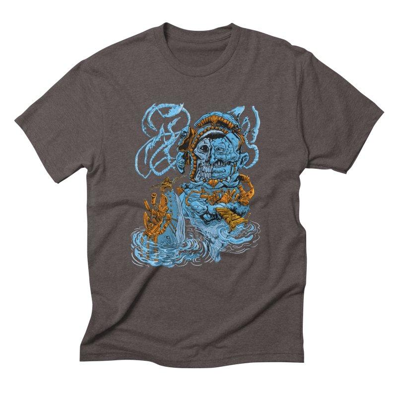 Steamborg Island Men's Triblend T-Shirt by