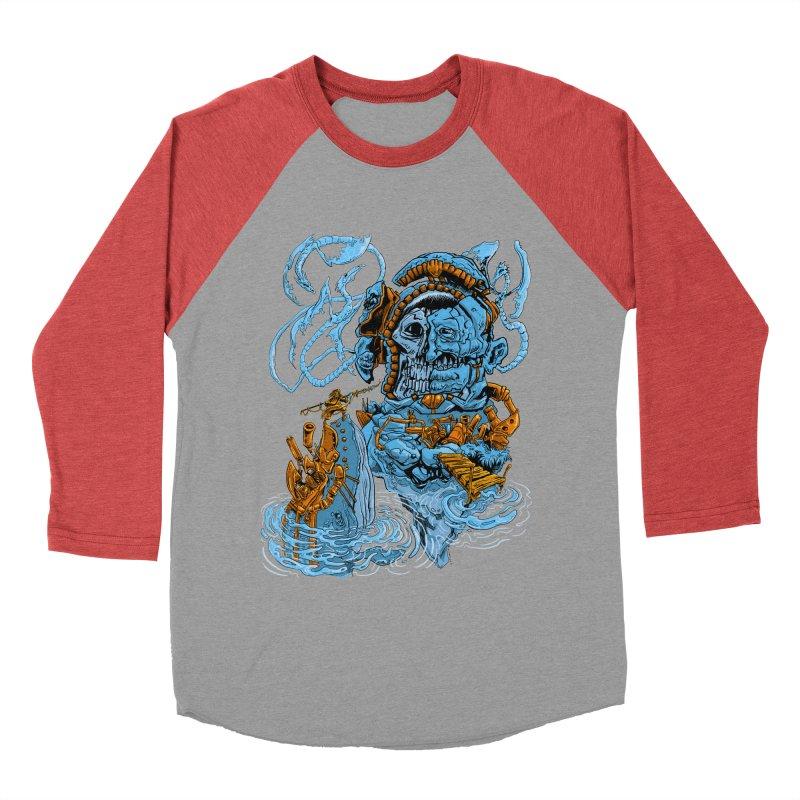 Steamborg Island Women's Baseball Triblend Longsleeve T-Shirt by
