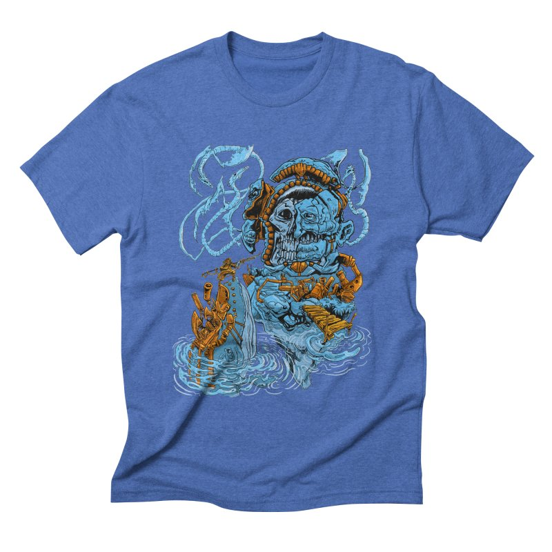 Steamborg Island Men's Triblend T-shirt by