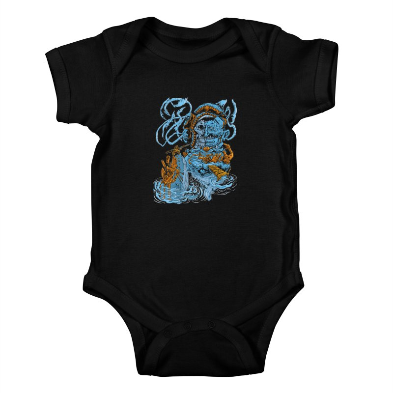Steamborg Island Kids Baby Bodysuit by