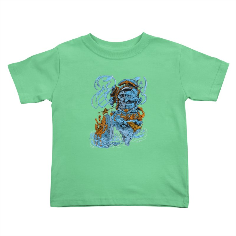 Steamborg Island Kids Toddler T-Shirt by