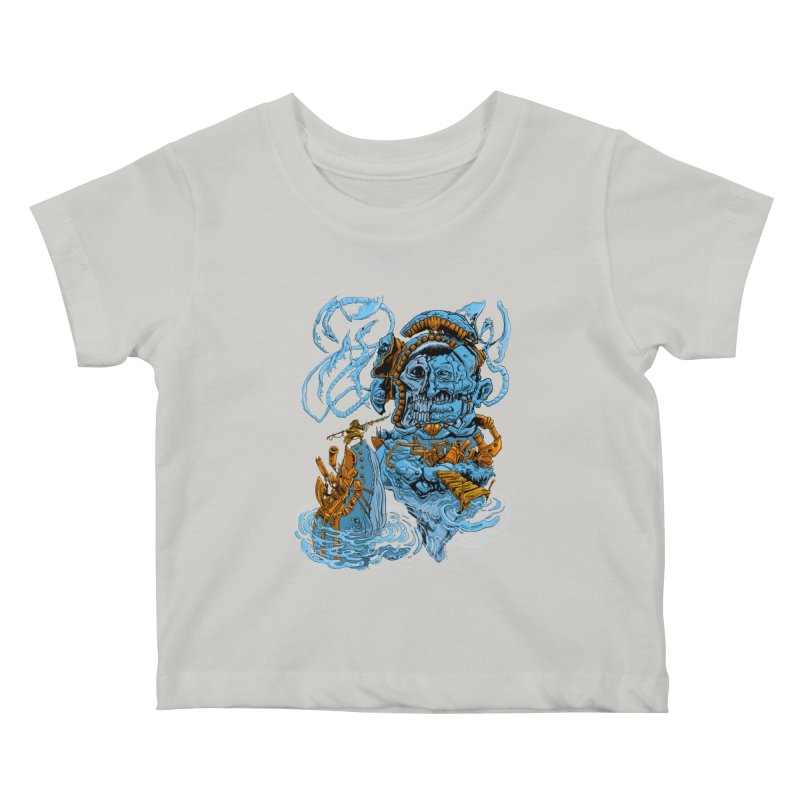 Steamborg Island Kids Baby T-Shirt by