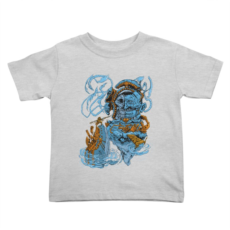Steamborg Island Kids Toddler T-Shirt by