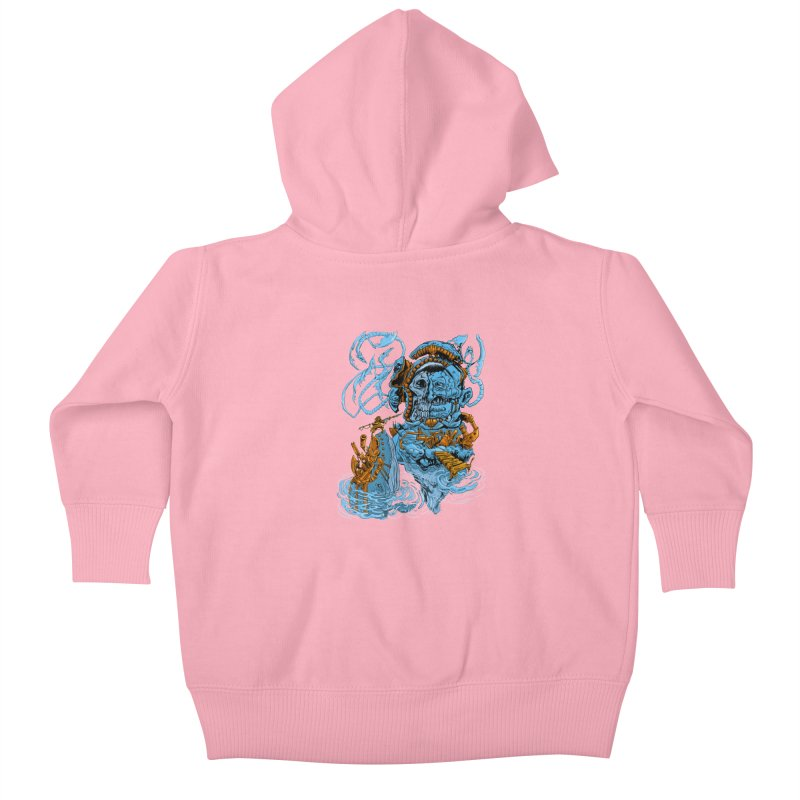 Steamborg Island Kids Baby Zip-Up Hoody by