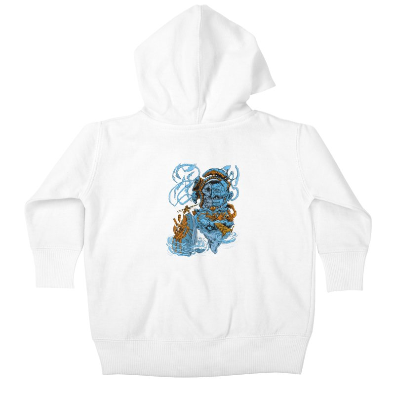 Steamborg Island Kids Baby Zip-Up Hoody by