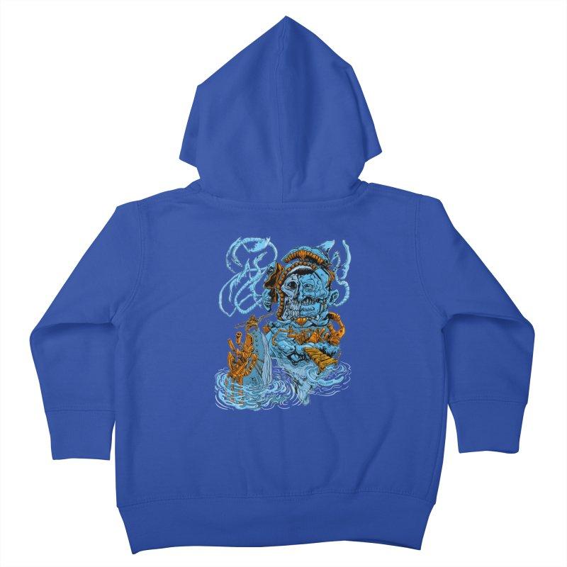 Steamborg Island Kids Toddler Zip-Up Hoody by