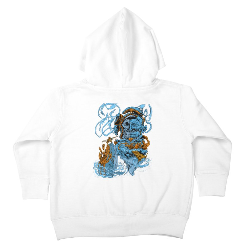 Steamborg Island Kids Toddler Zip-Up Hoody by