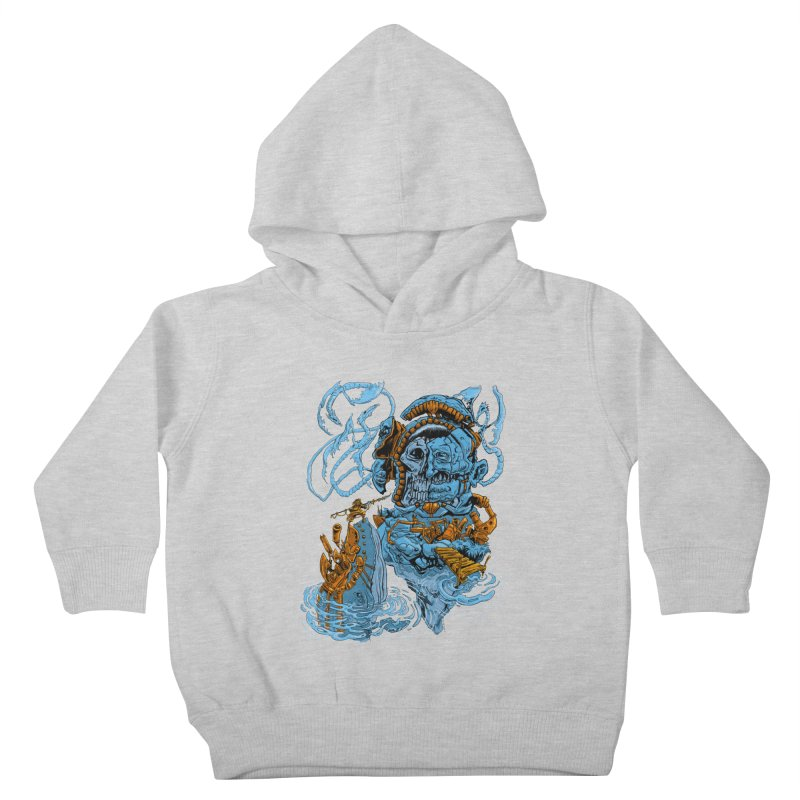 Steamborg Island Kids Toddler Pullover Hoody by