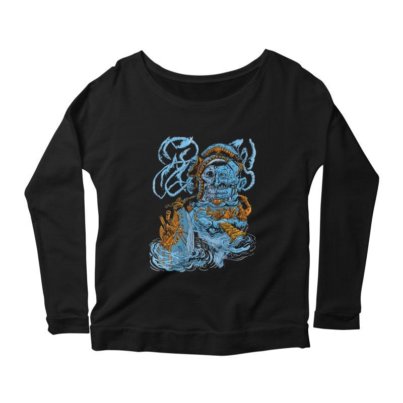 Steamborg Island Women's Scoop Neck Longsleeve T-Shirt by