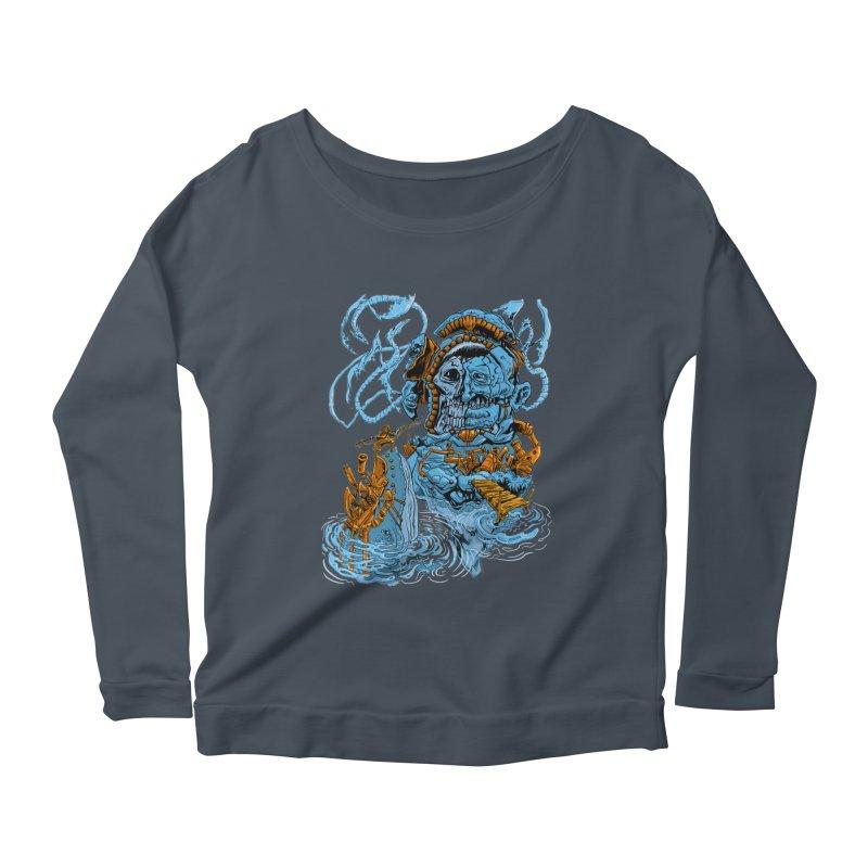 Steamborg Island Women's Longsleeve T-Shirt by