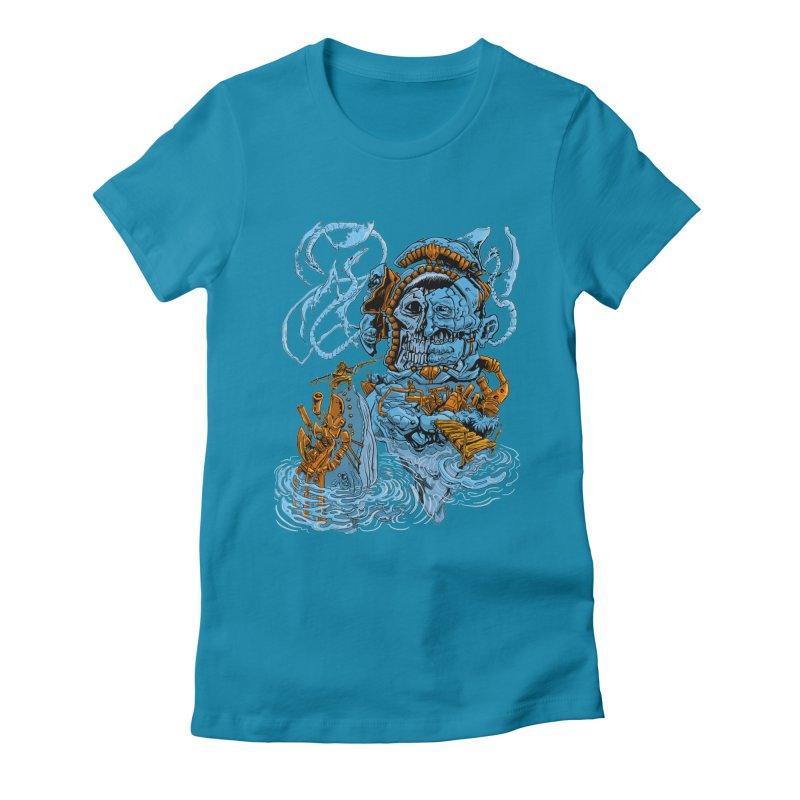 Steamborg Island Women's T-Shirt by