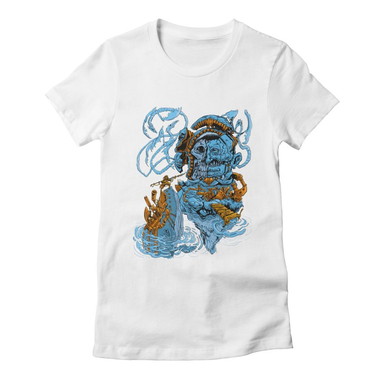 Steamborg Island Women's T-Shirt by