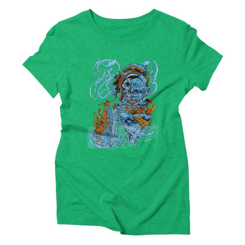 Steamborg Island Women's Triblend T-Shirt by