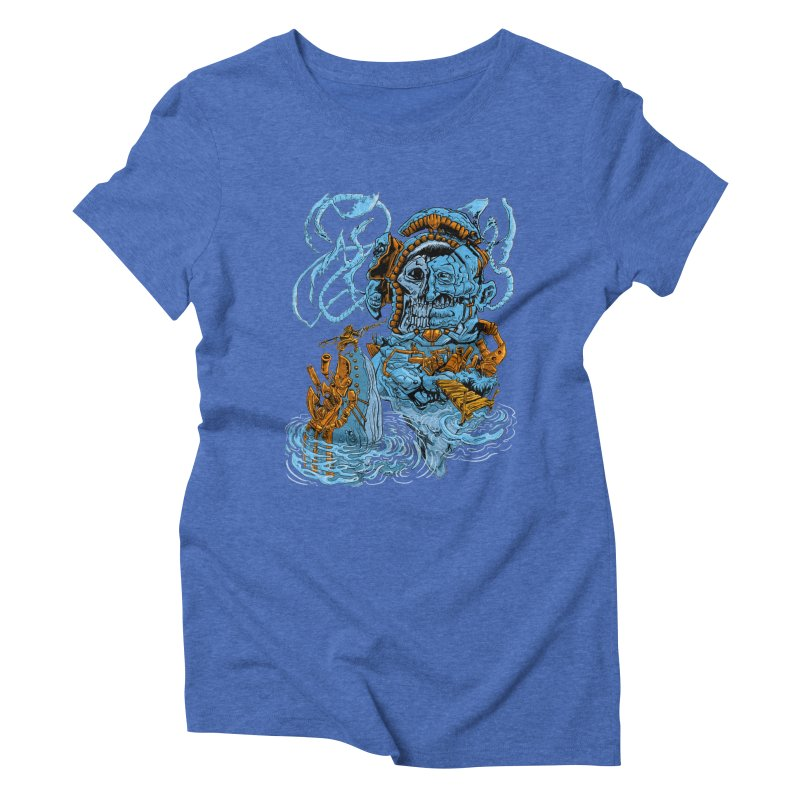 Steamborg Island Women's Triblend T-Shirt by