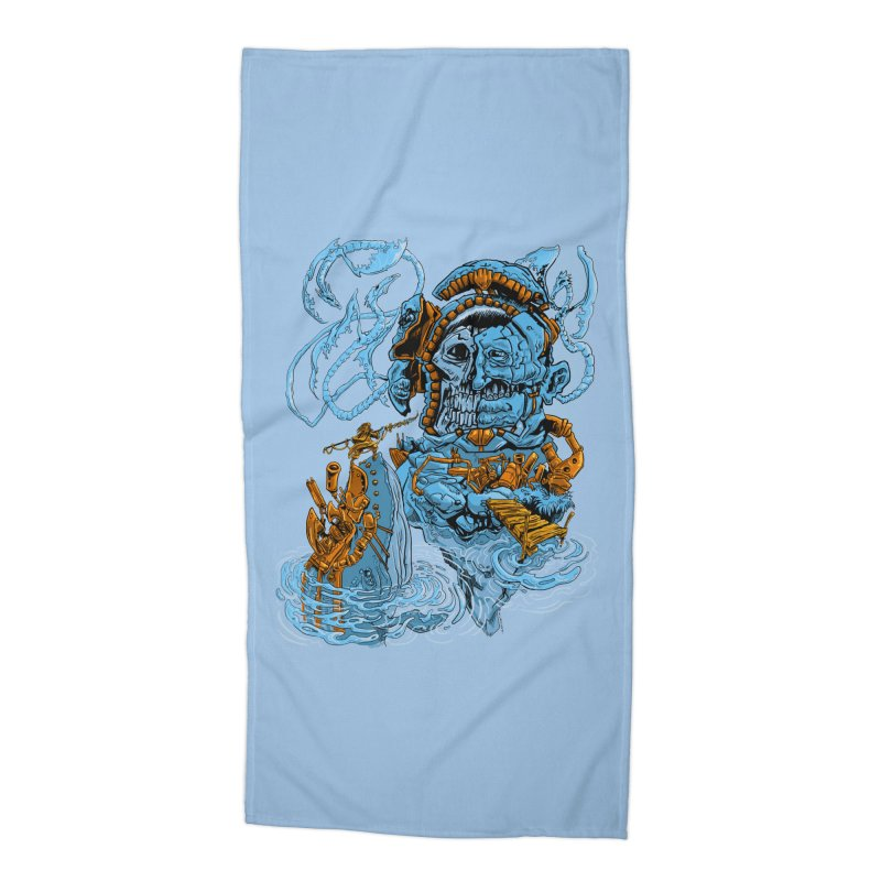 Steamborg Island Accessories Beach Towel by