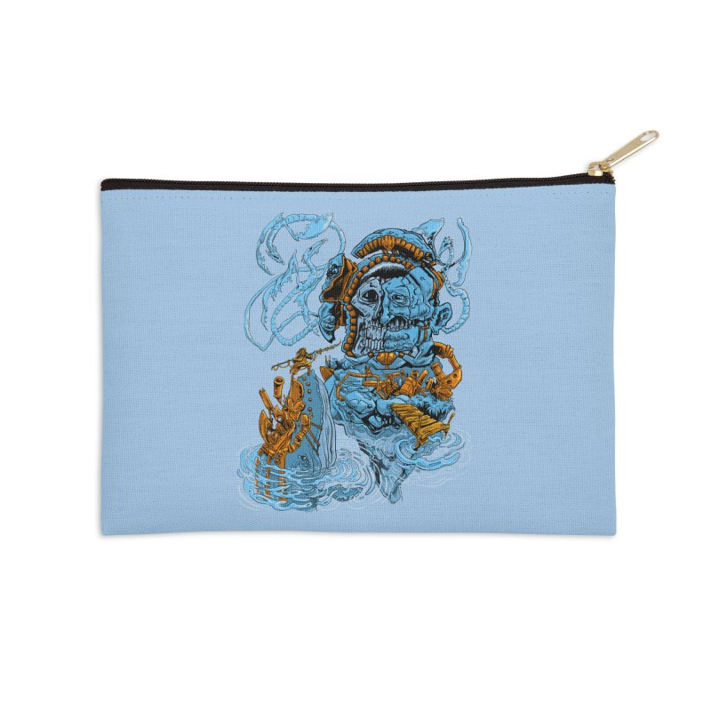 Steamborg Island Accessories Zip Pouch by