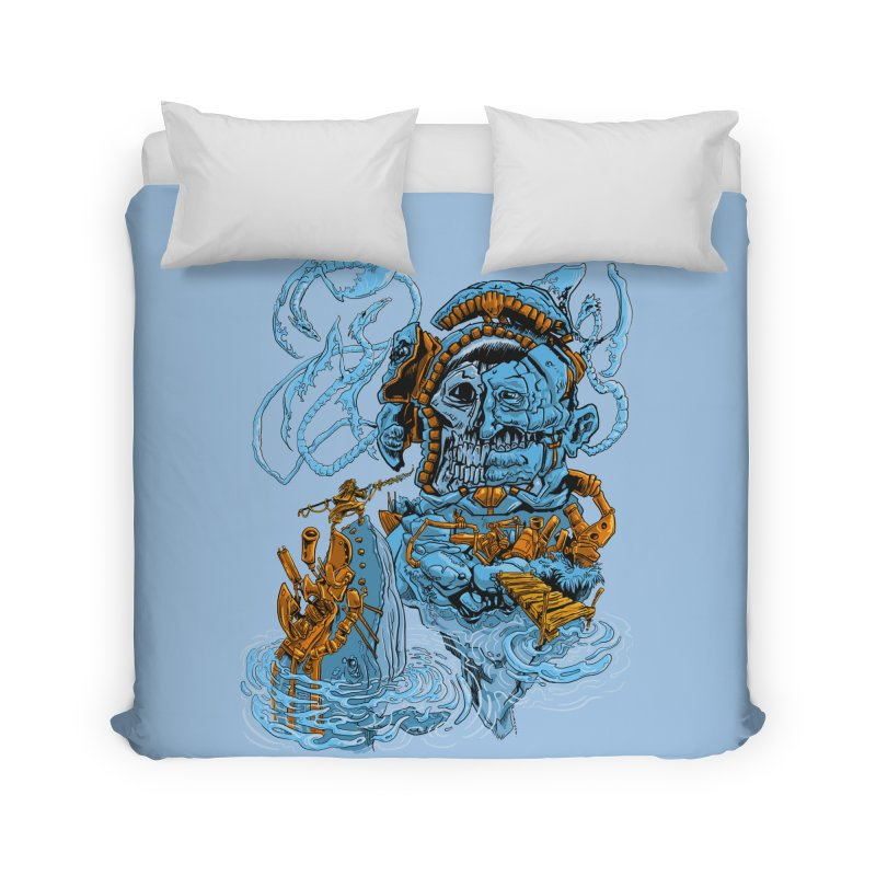 Steamborg Island Home Duvet by