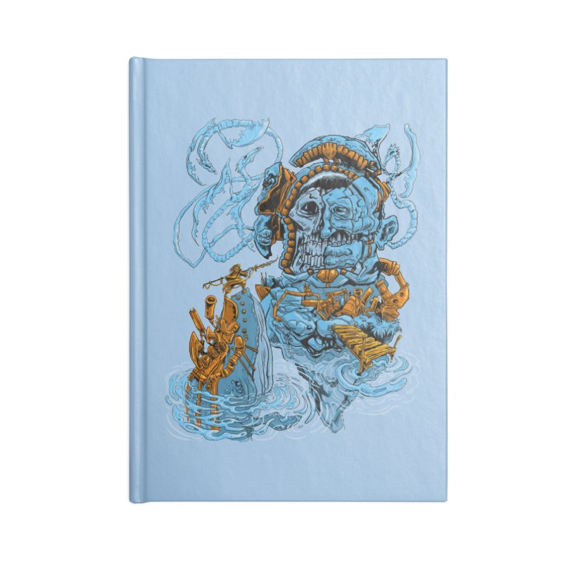 Steamborg Island Accessories Blank Journal Notebook by