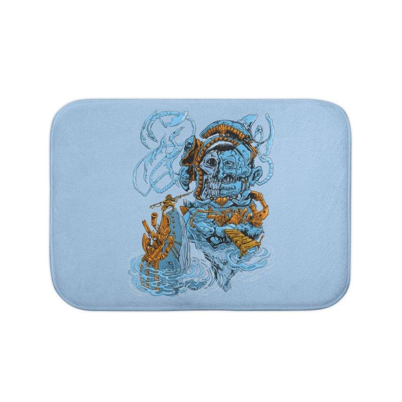 Steamborg Island Home Bath Mat by