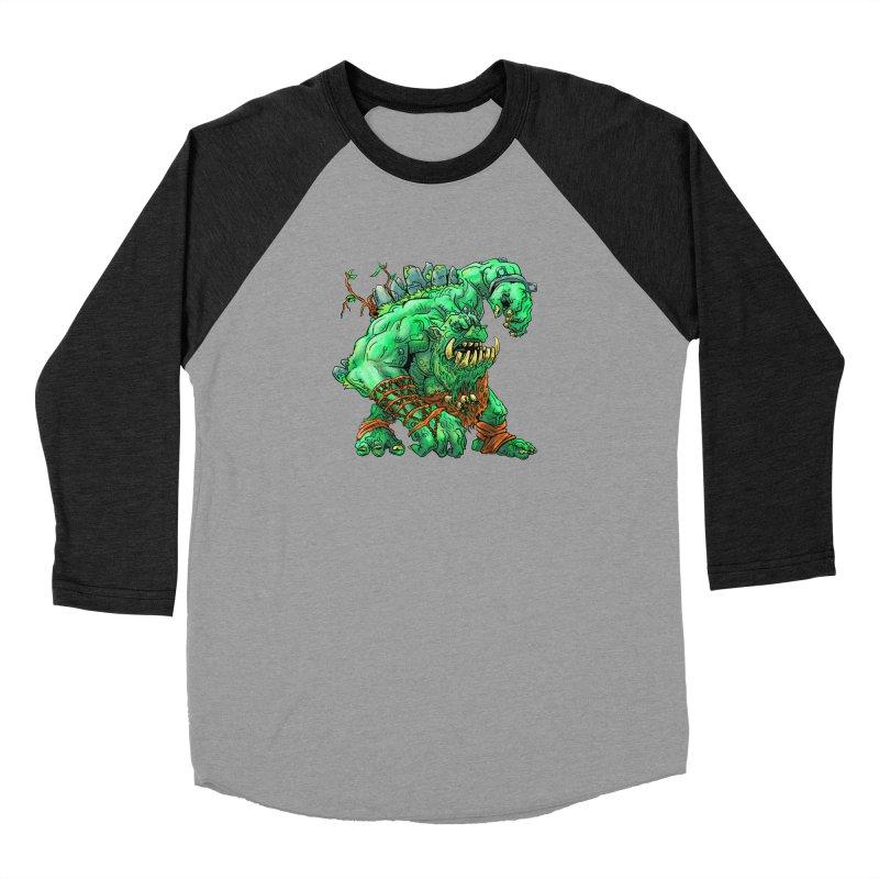 Straight Trollin' Men's Baseball Triblend Longsleeve T-Shirt by
