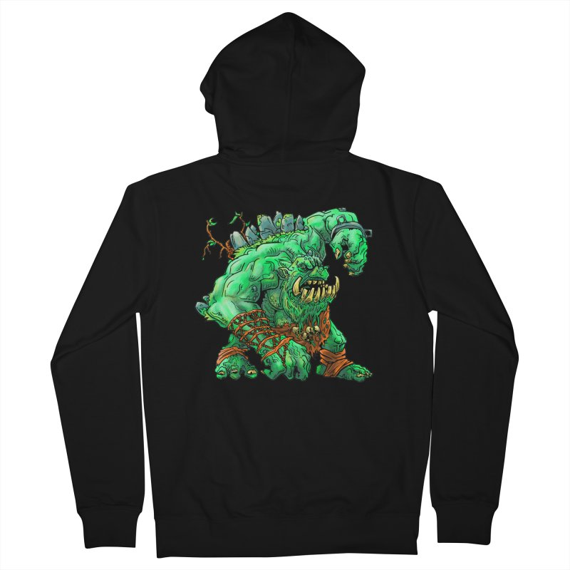 Straight Trollin' Men's Zip-Up Hoody by