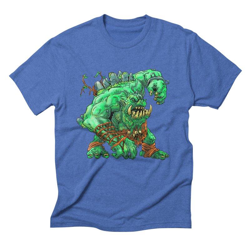 Straight Trollin' Men's Triblend T-shirt by