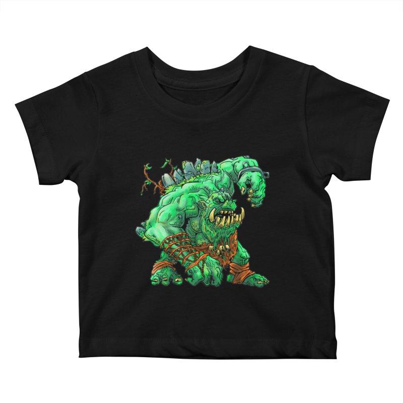 Straight Trollin' Kids Baby T-Shirt by